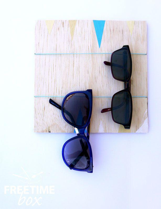 Organiseur de lunettes/ Pense bête - DIY- Freetime box