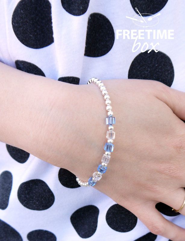 Bracelet en perles - DIY- Freetime box