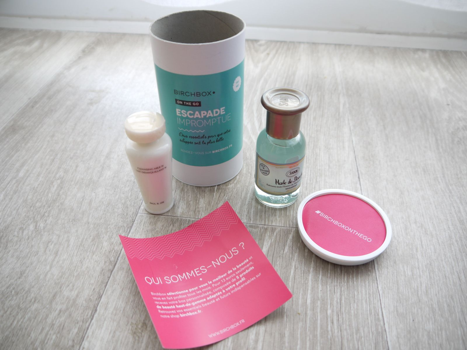 Birchbox on the go - Beauté