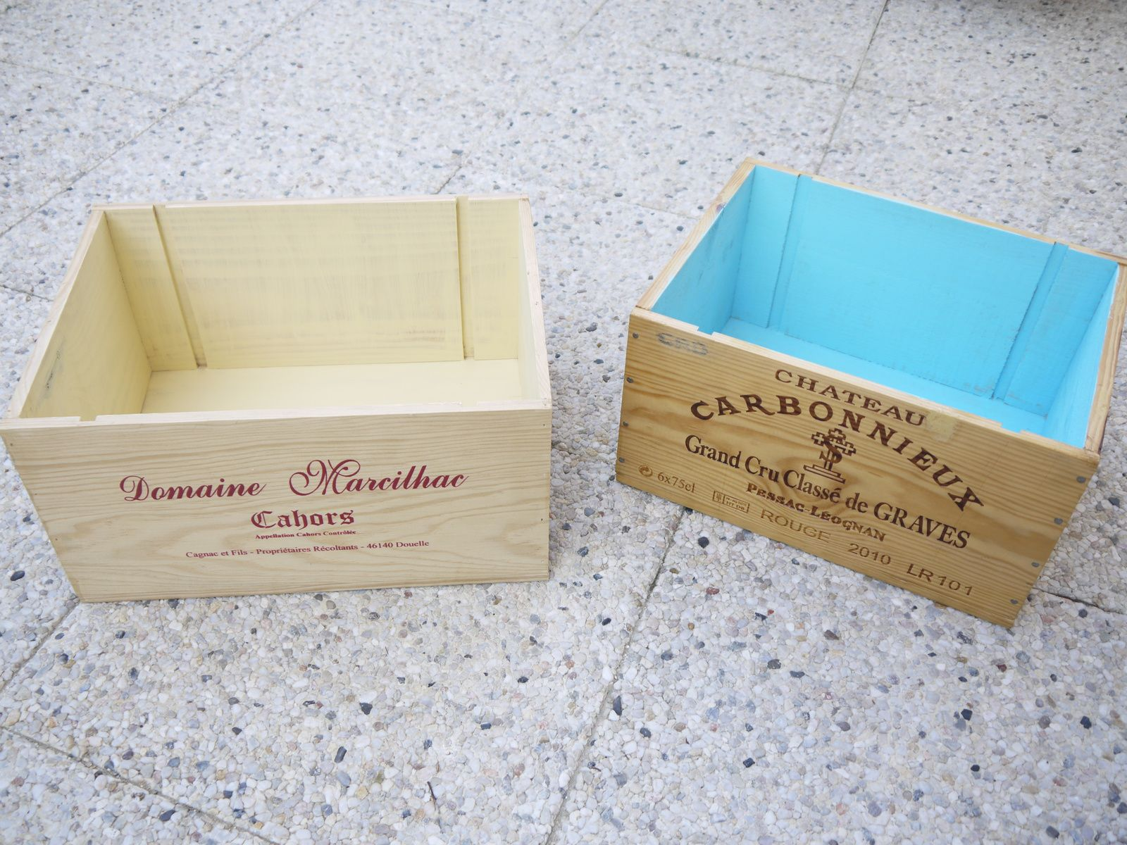 Que faire avec des caisses à vin en bois? - DIY