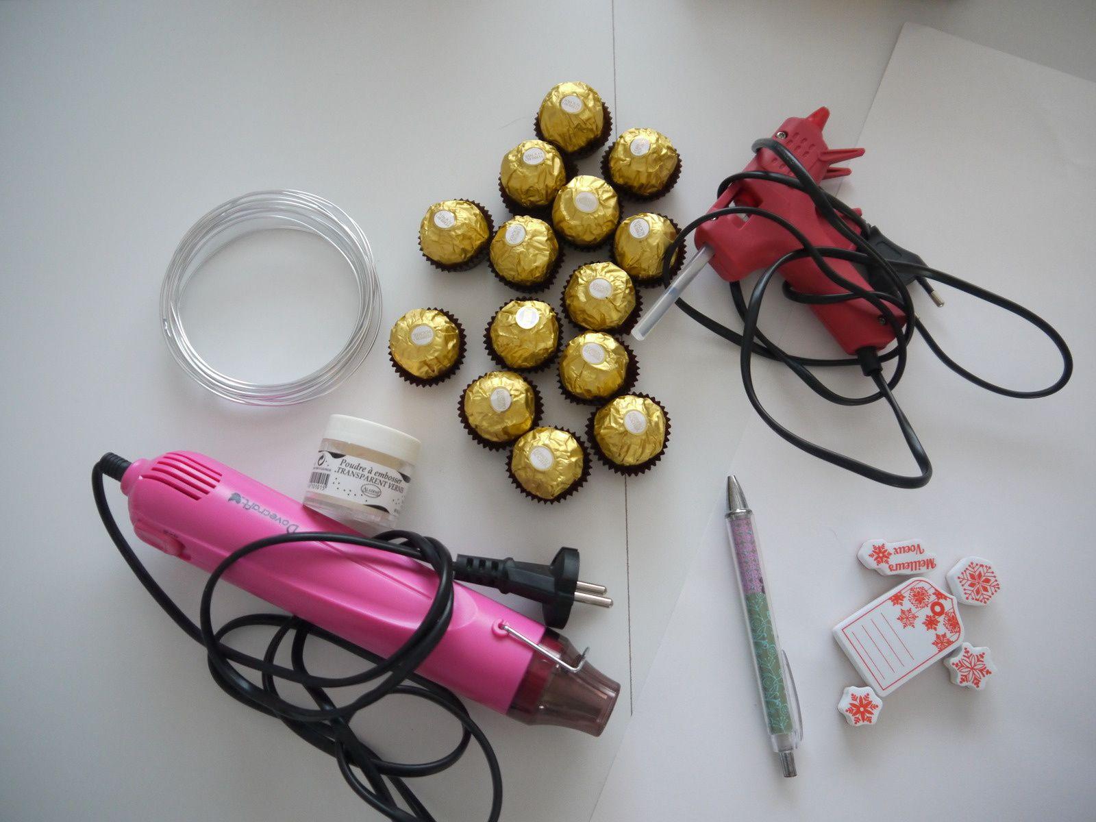 Portes noms Ferrero Rocher spécial Réveillon du 31 décembre - DIY