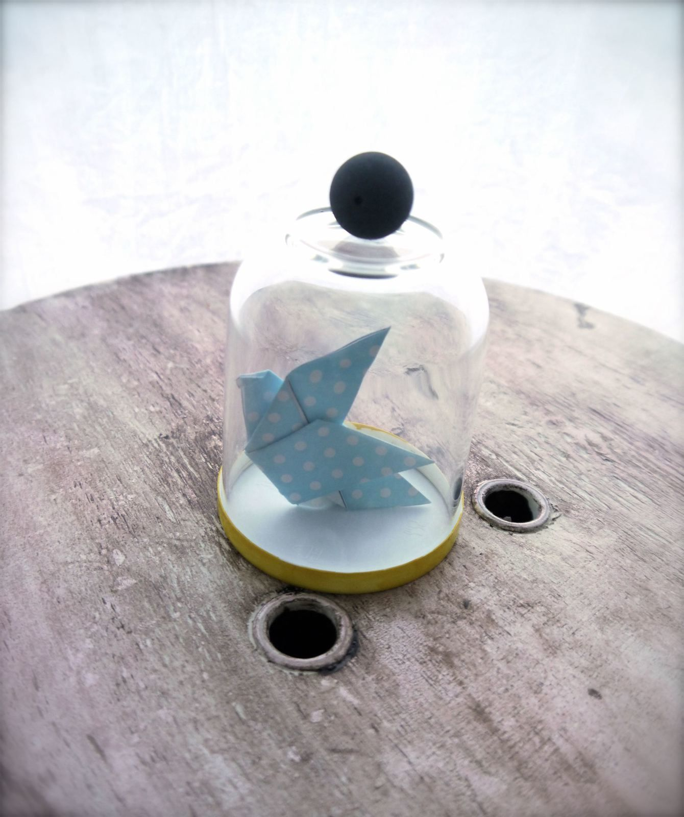 Cloche en verre - DIY