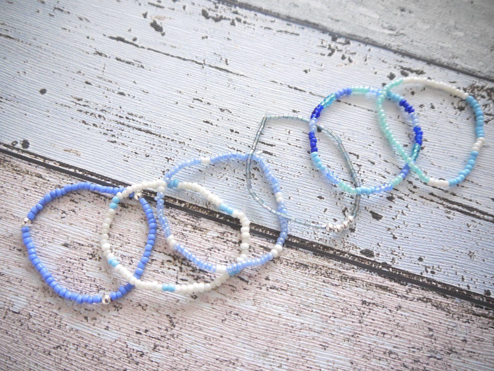 Bracelets en perles - DIY