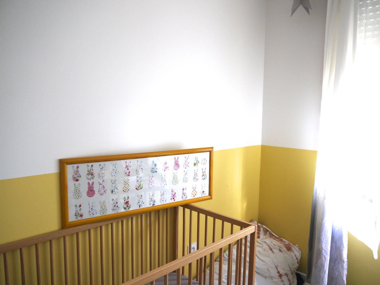 Cadre lapins pour la chambre des kids - DIY esprit summer