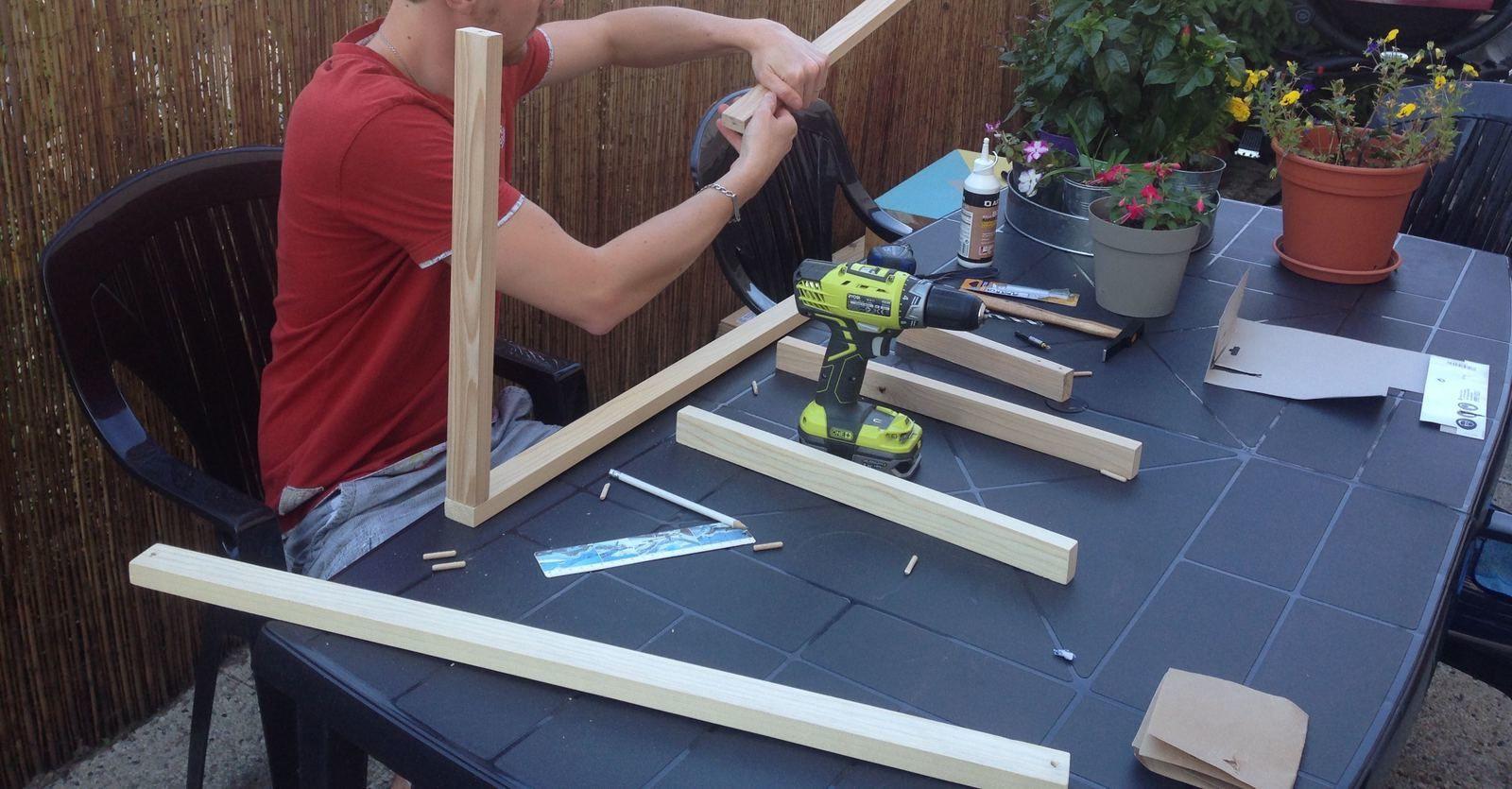 Fabriquer une table basse - Article DIY