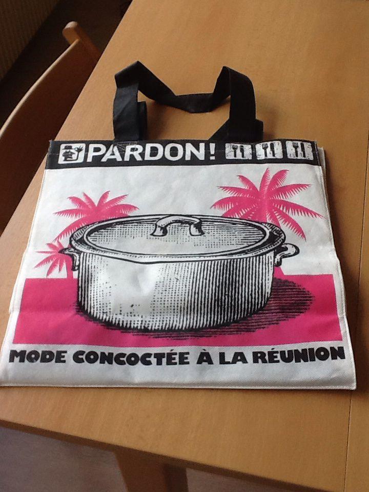 Un sac Pardon en coussin