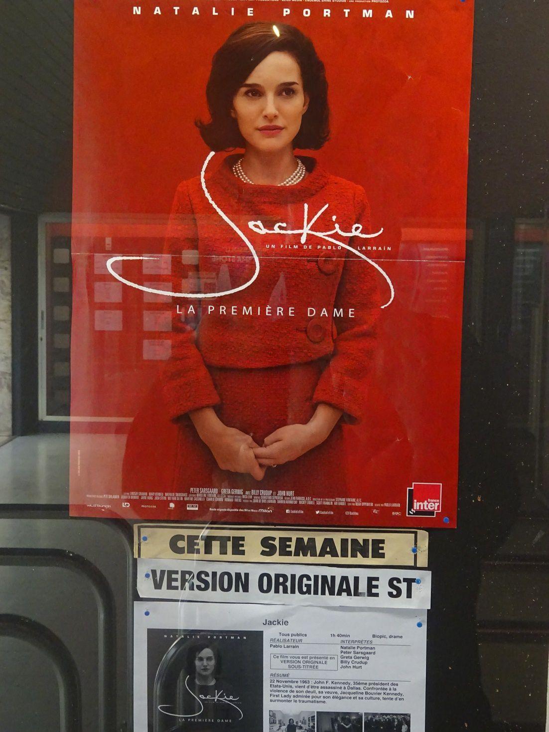 """Jackie"" - Film de pablo larrain - Cinéma Rialto - Nice  ©Théodore Charles/un-culte-d-art.overblog.com"