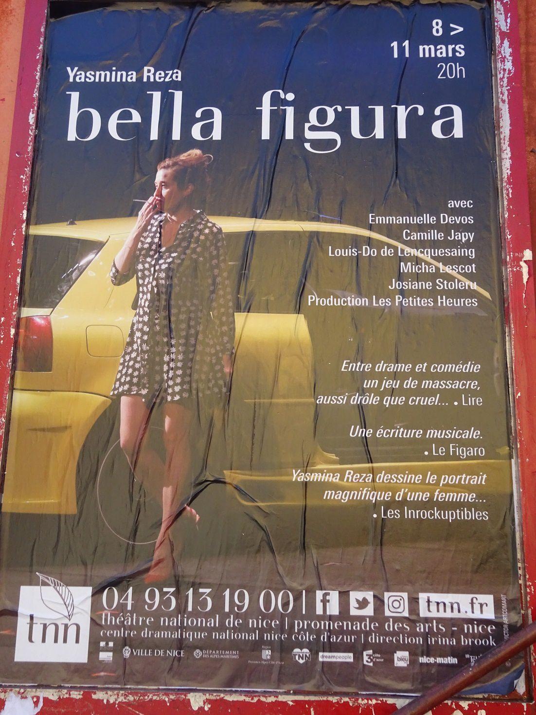 """Bella Figura"" de Yasmina Reza - Théâtre national de Nice ©Théodore Charles/un-culte-d-art.overblog.com"