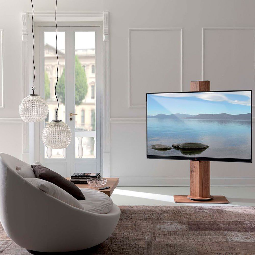 Mueble moderno para t v for Mueble television giratorio 08