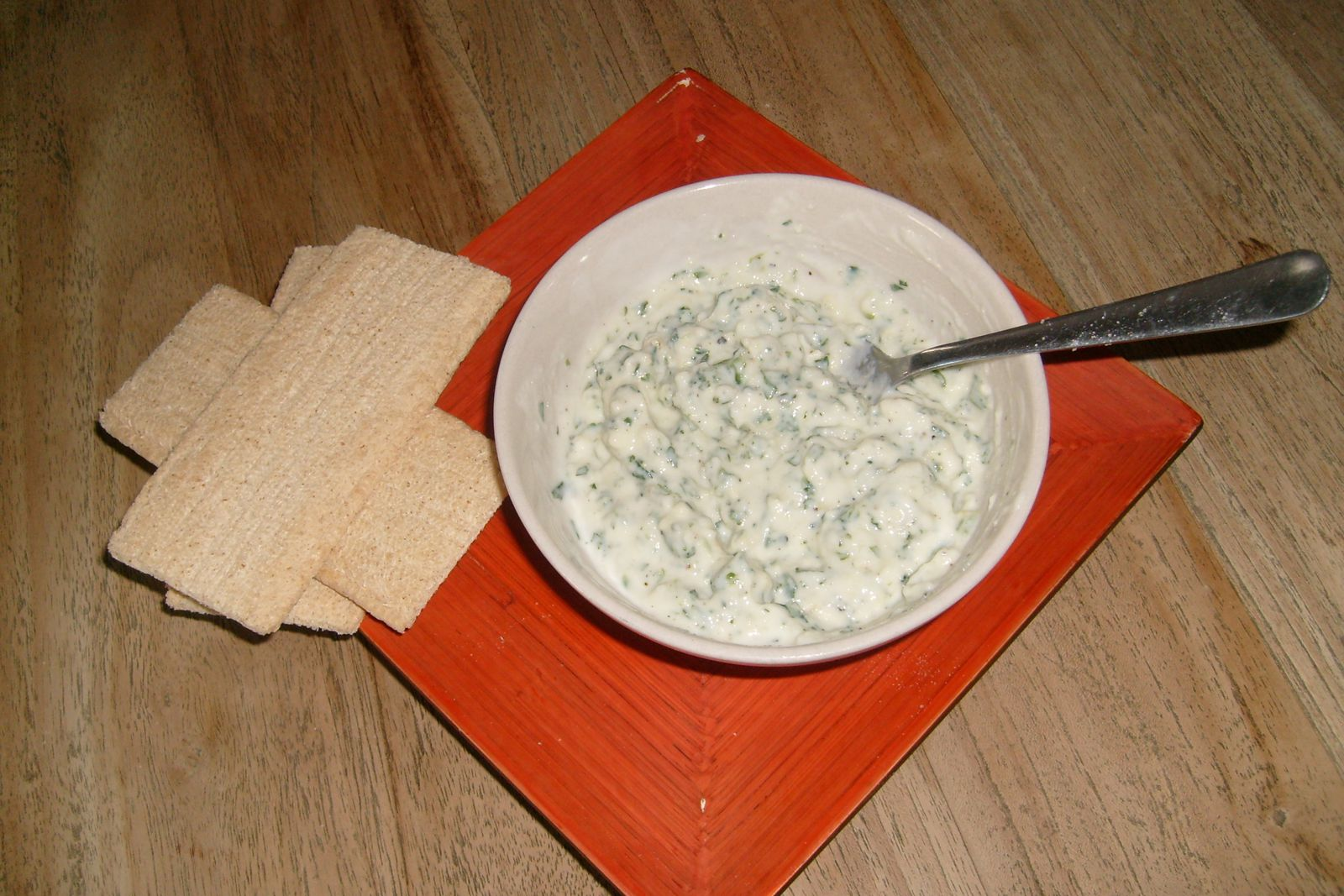fromage ail et fines herbes