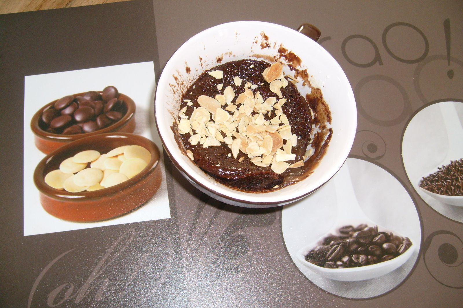 mug cake chocolat creme de marrons