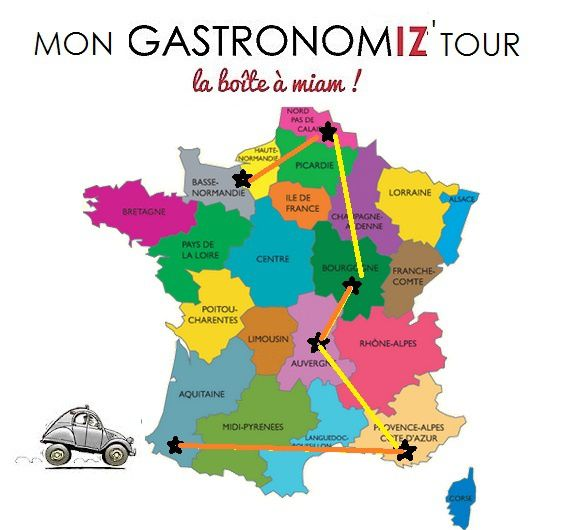GASTRONOMIZ  - made in régions-