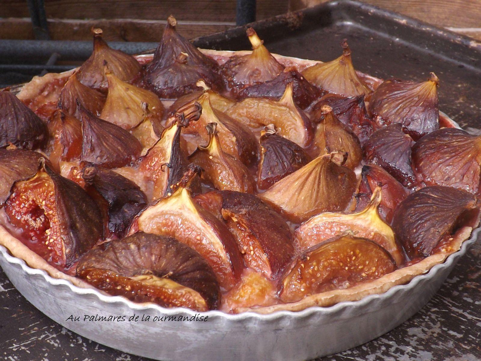 Fabuleuses tartelettes aux figues, frangipane allégée IG Bas