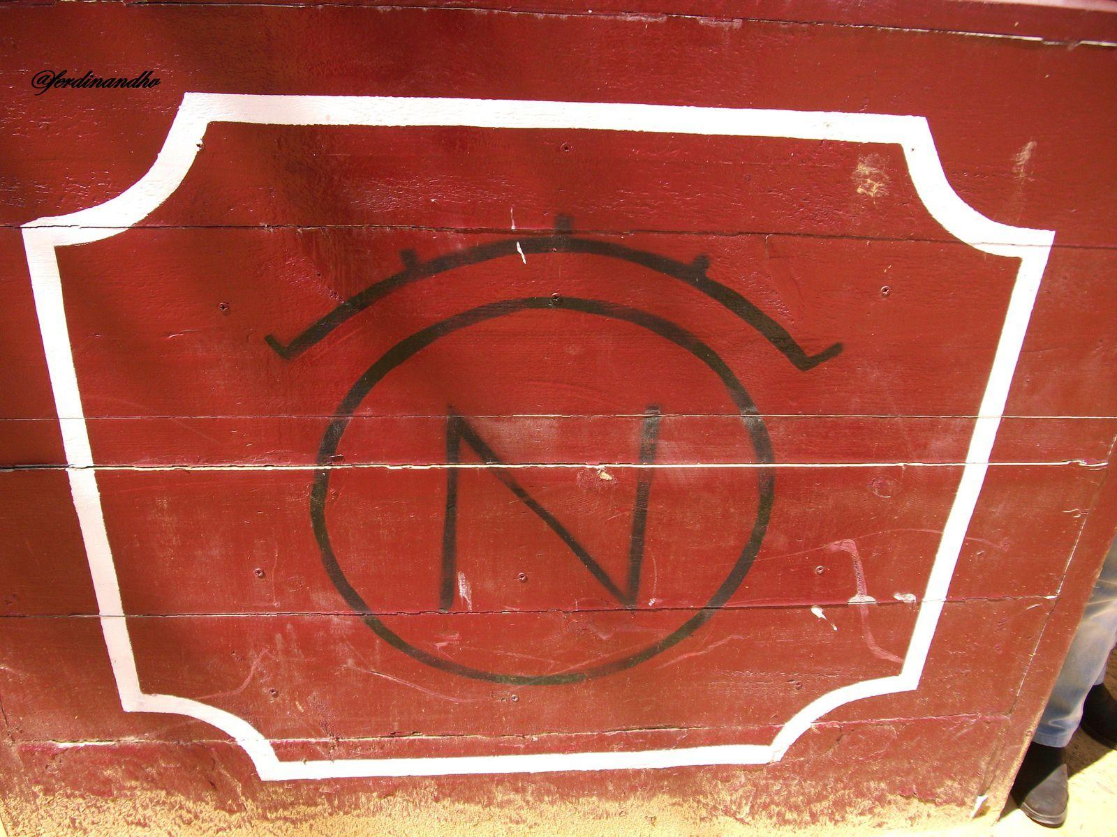 El hierro de Nane hoy en día propiedad de la ganadería de Dolores Aguirre.