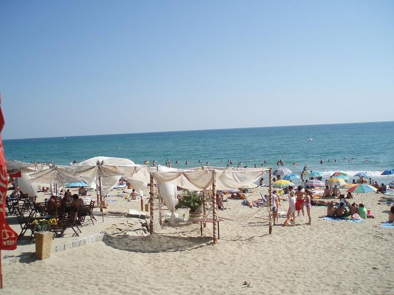 Une petite plage à Nessebar