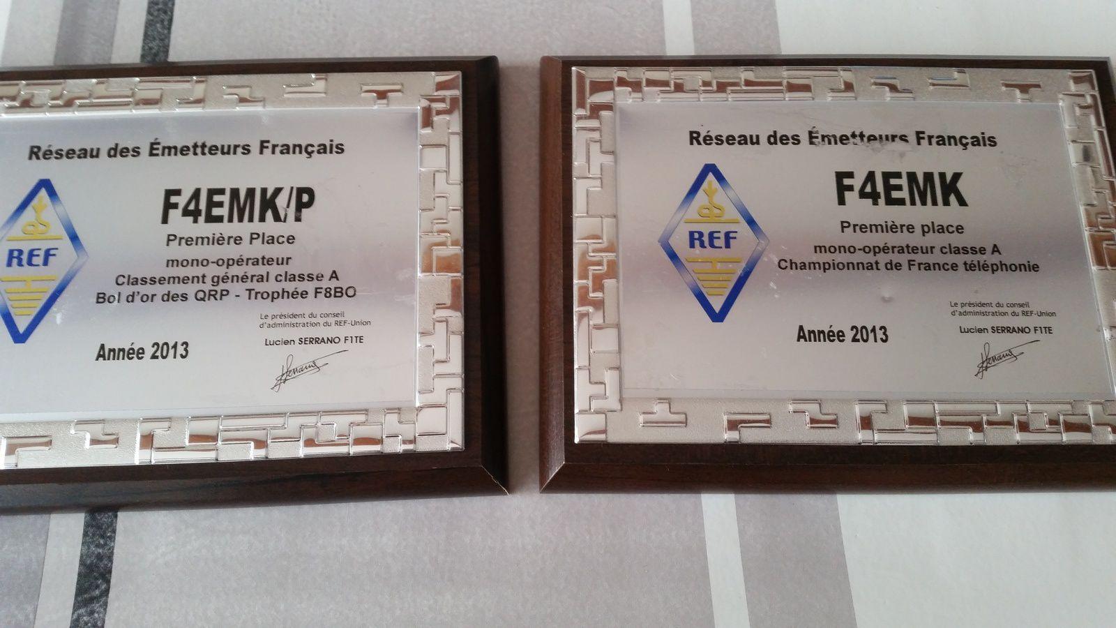 Trophées Bol d'or des qrp et CDF phonie