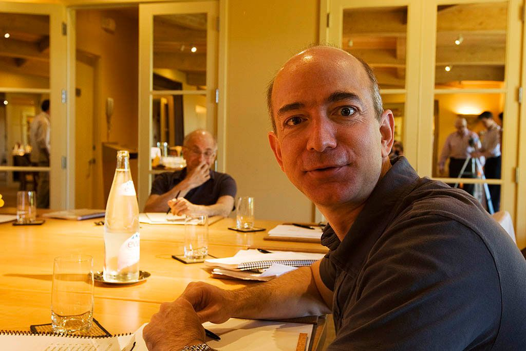 Jeff Bezos (Amazon) : élu BusinessPerson of the Year