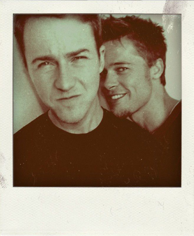 20. Edward Norton and Brad Pitt