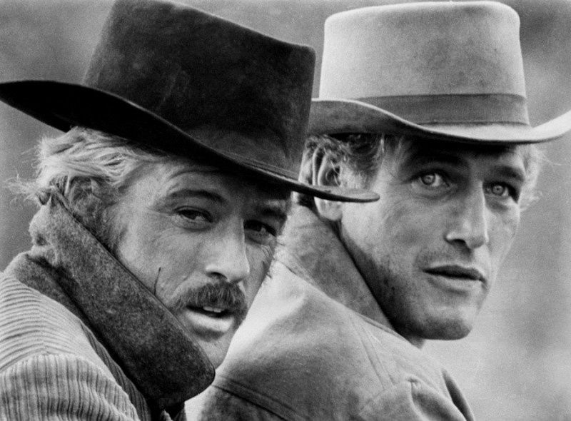 29. Robert Redford and Paul Newman