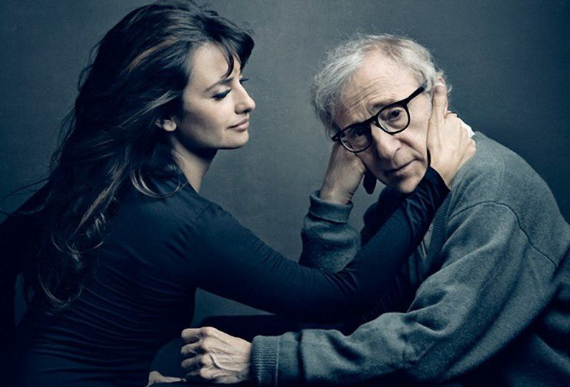 5. Penelope Cruz and Woody Allen