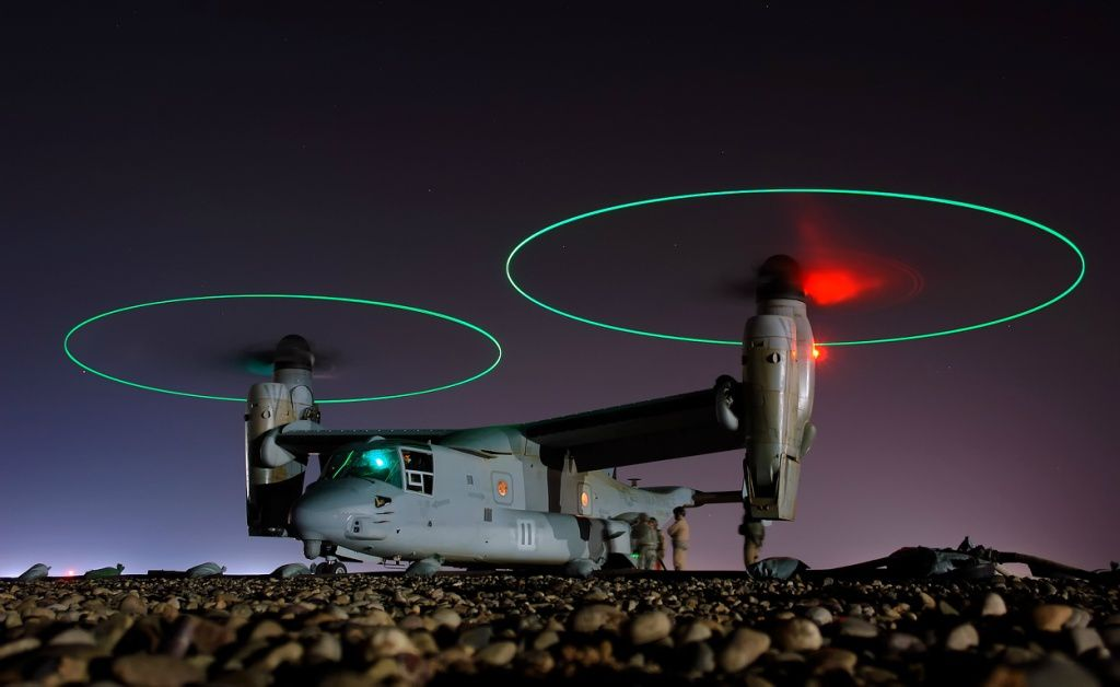 "Joe Kane ""The plane V-22 Osprey on the rise."""