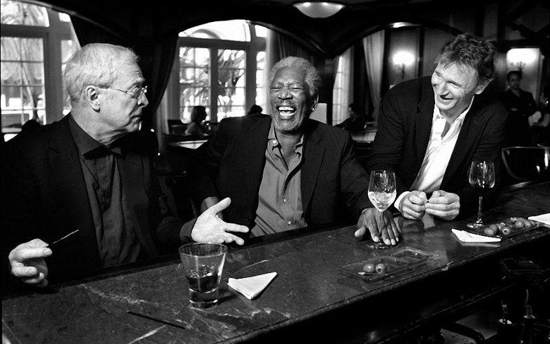 1. Michael Caine, Morgan Freeman, Liam Neeson