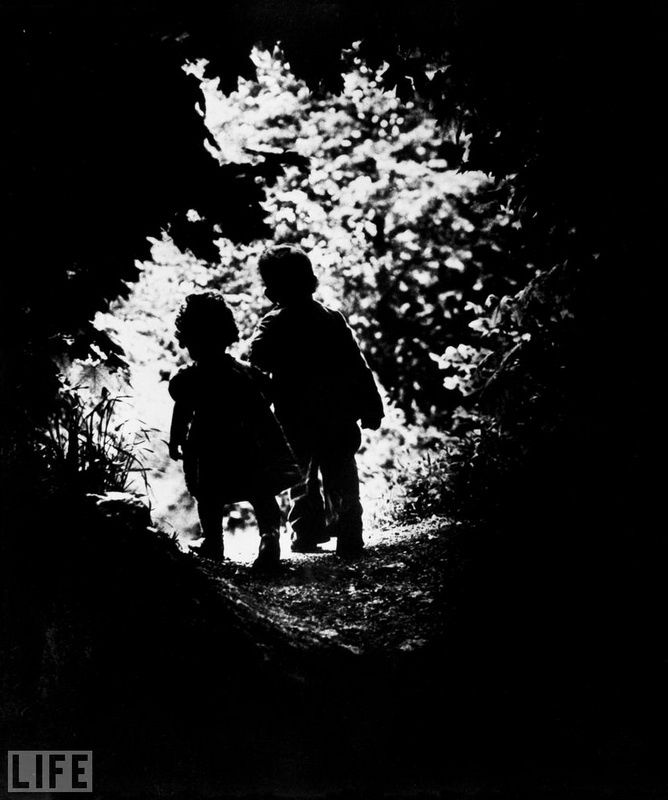 47. To light (Into the Light). Photo by Eugene Smith, 1946