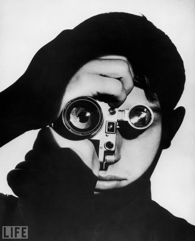 50. Dennis Stock: Photo by Andreas Feininger, 1951