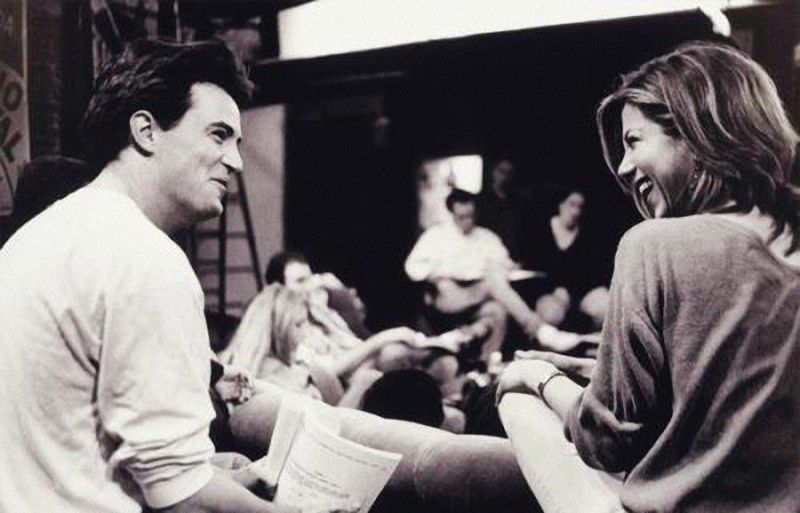 6. Matthew Perry and Jennifer Aniston