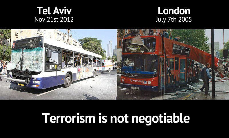 Terrorism is not negotiable #gaza #hamas...