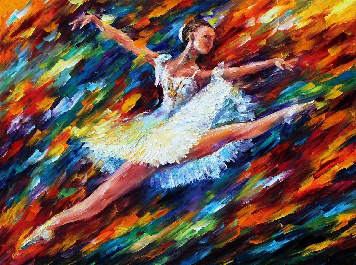 Le peintre Leonid Afremov