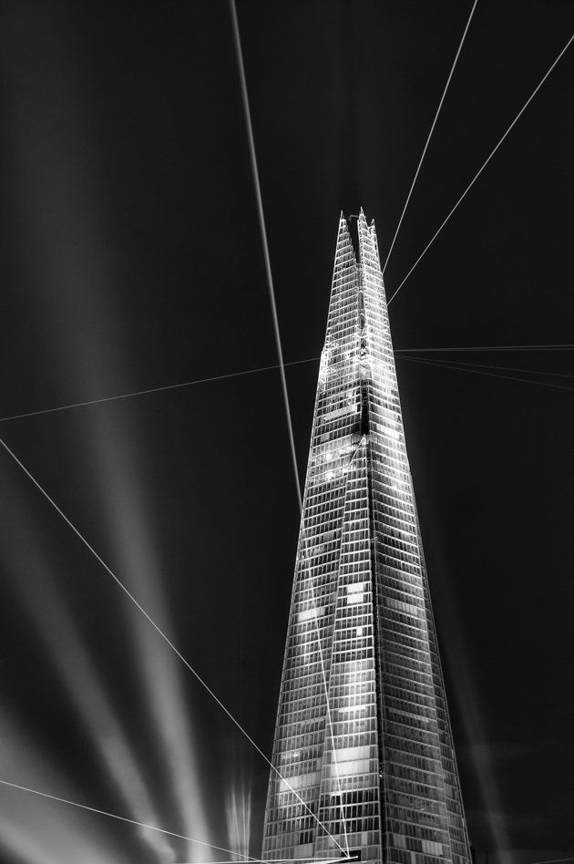 """Inauguration"", The Shard, Londres - Giles McGarry"