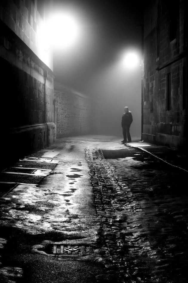 Man in the Fog, Oxford - Stephen Colbrook