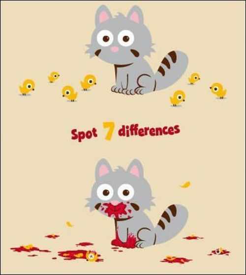 7 differences