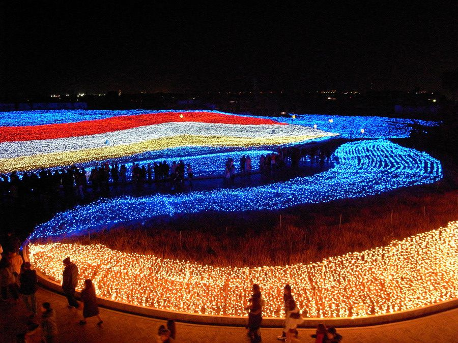 Winter Festival of Light in Japan