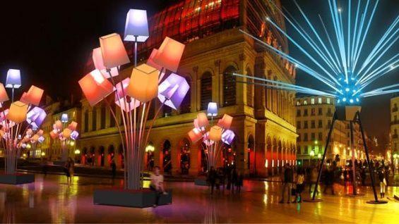 La fetes des lumières à Lyon, visite virtuelle