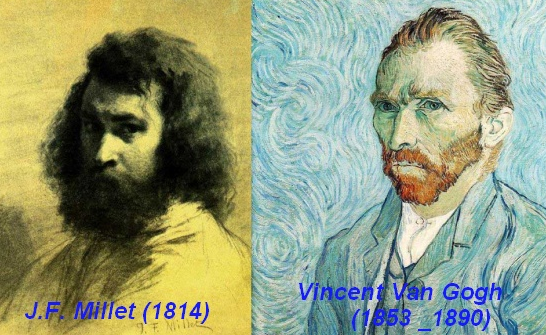 Van Gogh ( 1853 - 1890) et Millet (1814)
