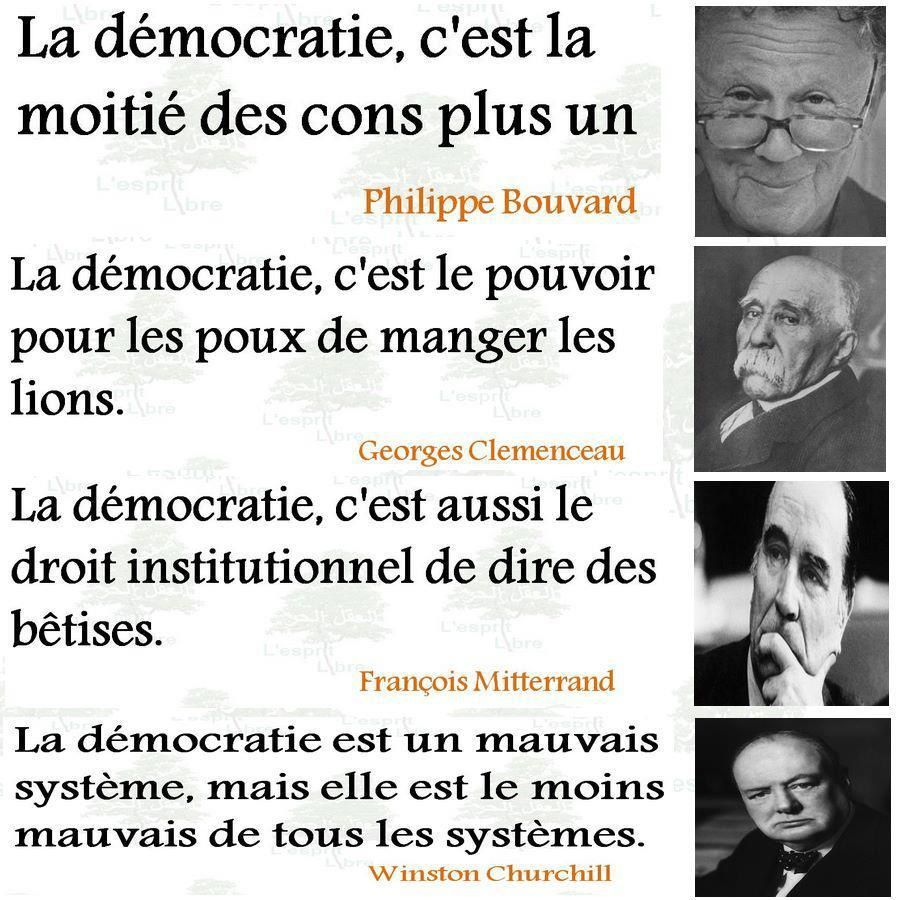 La Democratie Vue Par Humour Actualites Citations Et Images