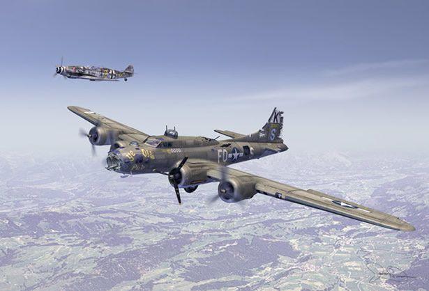 Rencontre d'aviateurs : un fait historique
