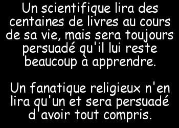 Scientifique et Religion