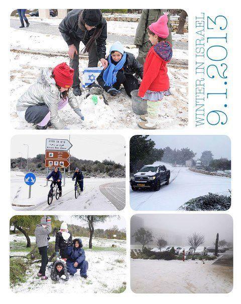 Jérusalem sous la neige (13 photos)
