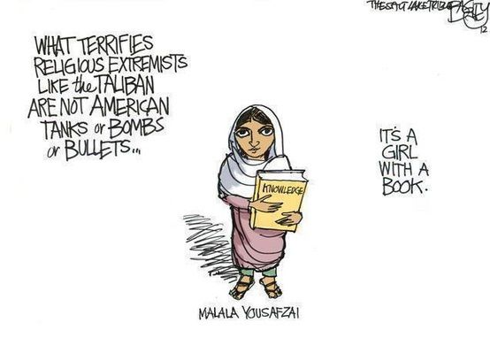 What terrifies religious extremists like Talibans