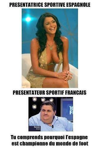 Présentation foot Espagne vs France