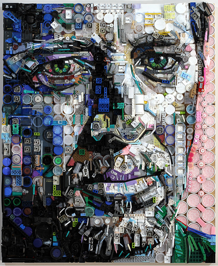 Les portraits recyclés de Zac Freeman ! (15 photos)