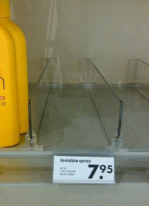 Invisible Spray