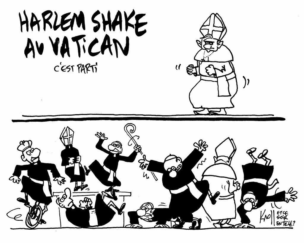 Harlem Shake au Vatican