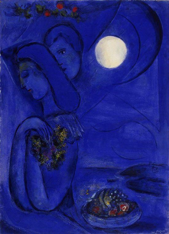 Saint Jean Cap Ferrat, Chagall 1949
