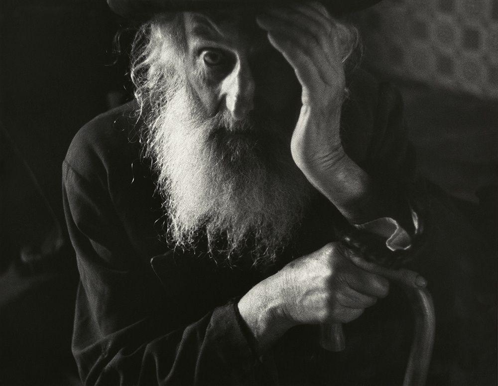 Le vieux sage du shtetl (Photo de Roman Vishniac, 1938)