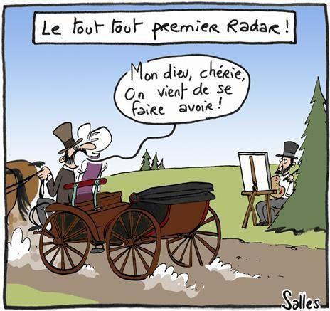 Les premiers radars..