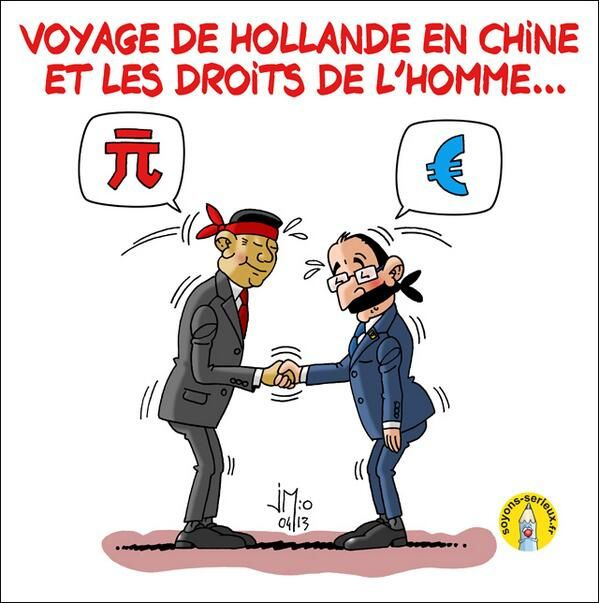 Le voyage de Hollande en Chine